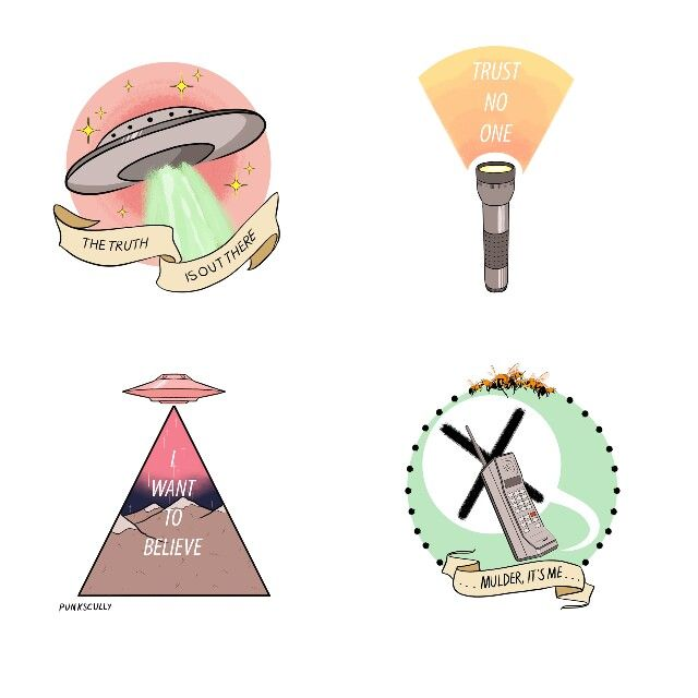 X Files Tattoo Ideas: 17 Best Ideas About The X Files On Pinterest