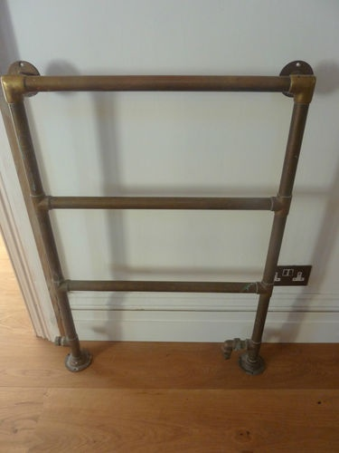 BRASS VICTORIAN TOWEL RAIL | eBay