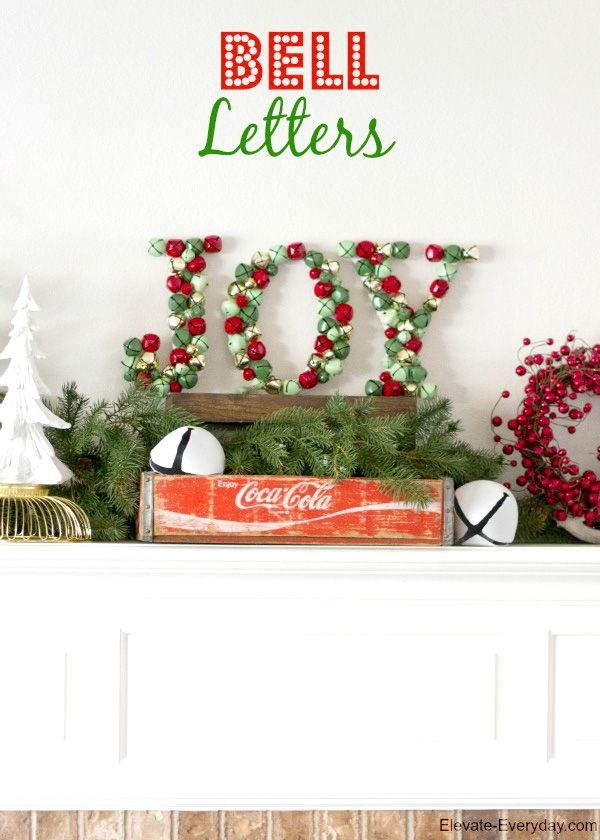 Christmas home decorations | Easy DIY paper mache letters | DIY Christmas Decoration Ideas: