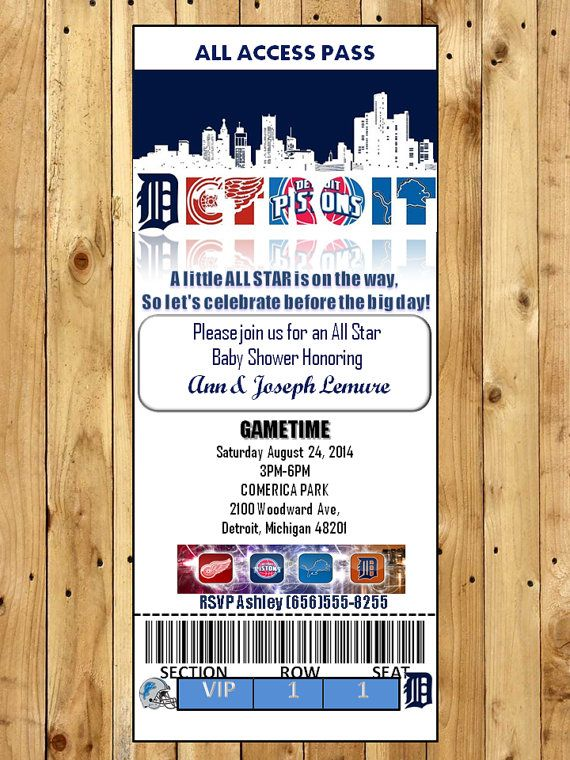 120 best sports theme baby shower images on pinterest | baby, Baby shower invitations
