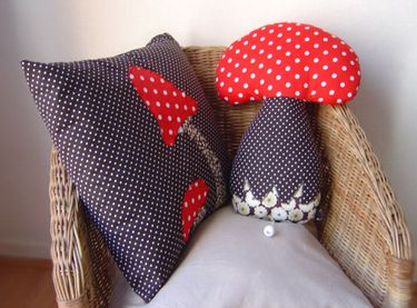mushroom pillows