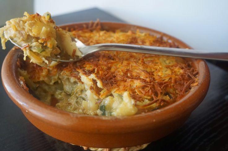 Cocinando con Montse: Pastel de bacalao y calabacín