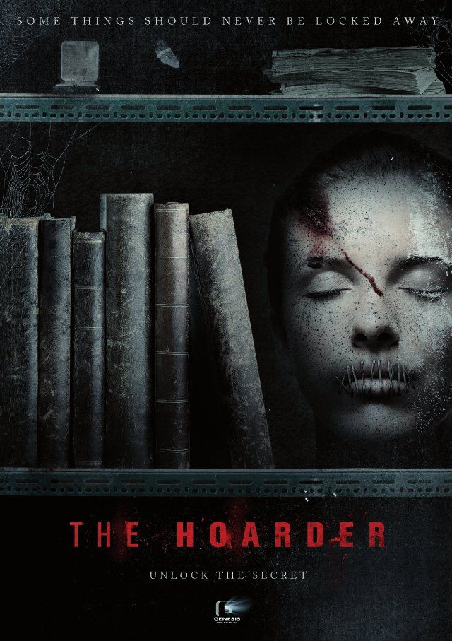 The Hoarder (2014) Horror movies, Horror movie posters