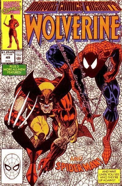 Marvel Comics Presents # 49 by Erik Larsen & Terry Austin
