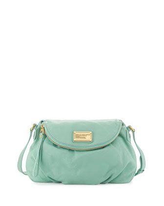 MARC by Marc Jacobs Classic Q Natasha Crossbody Bag, Aqua (Stylist Pick!)
