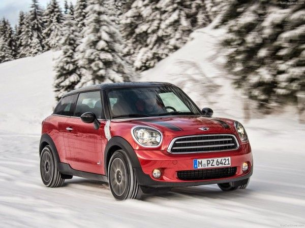 2015 Mini Paceman Reds Images