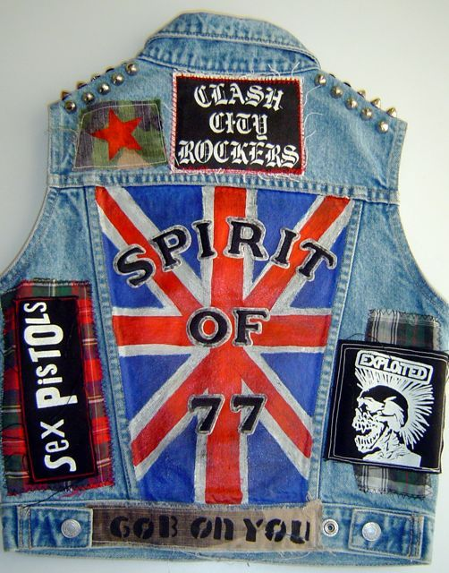 DIY Punk Patches (One of the many ways to DIY patches)