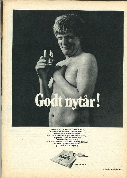 Reklame fra 1960'erne.
