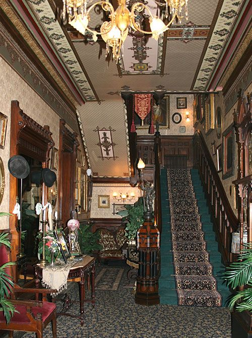 The Frederick Stegmaier Mansion, Wilkes-Barre, PA -- Entry Foyer