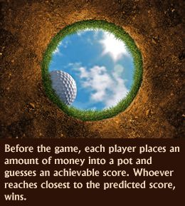 Ideas for fun golf tournament - do this as a 50/50 - they keep half and org keeps half