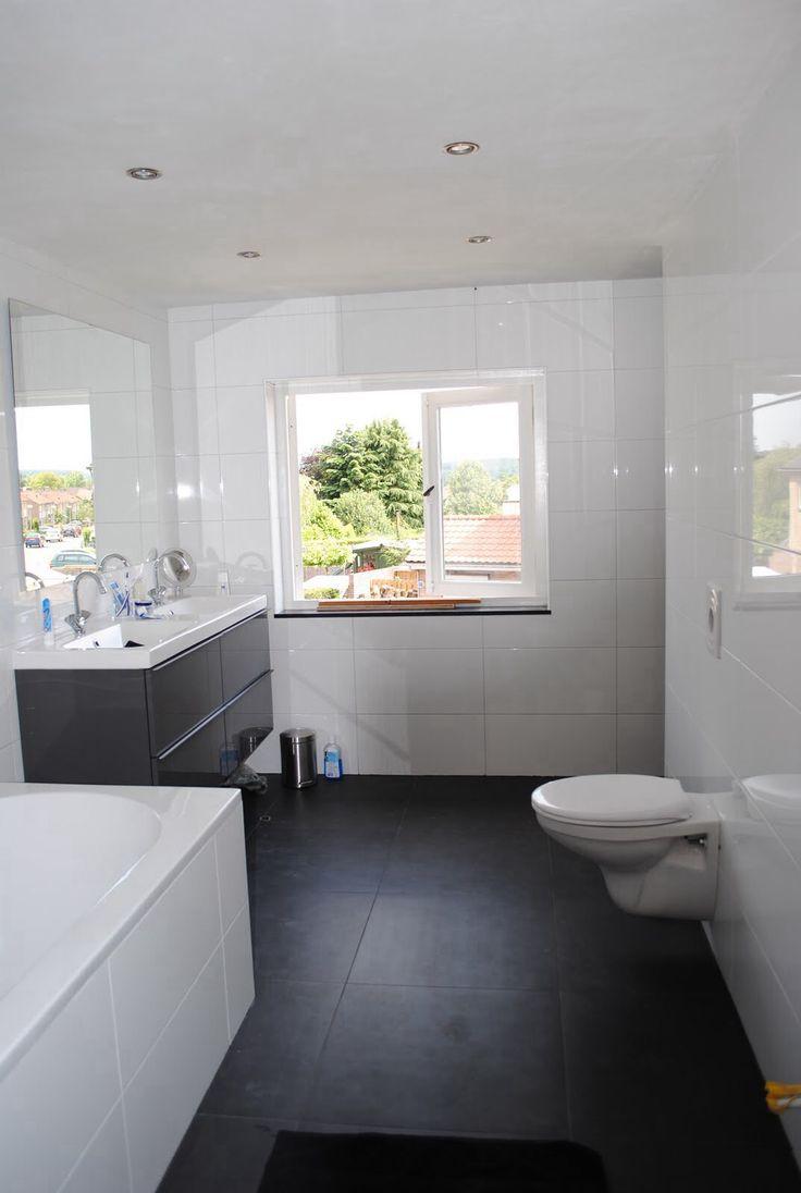 25 beste idee n over badkamer vloer op pinterest tegel vloeren badkamers en grijze houten - Deco badkamer meubels ...