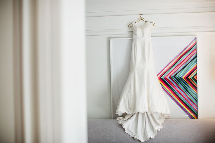 The bride wore a beautiful Paloma Blanca wedding gown from BleuBelle Bridal! See more on Savannah Soiree. http://www.savannahsoiree.com/journal/black-white-wedding-at-the-brice