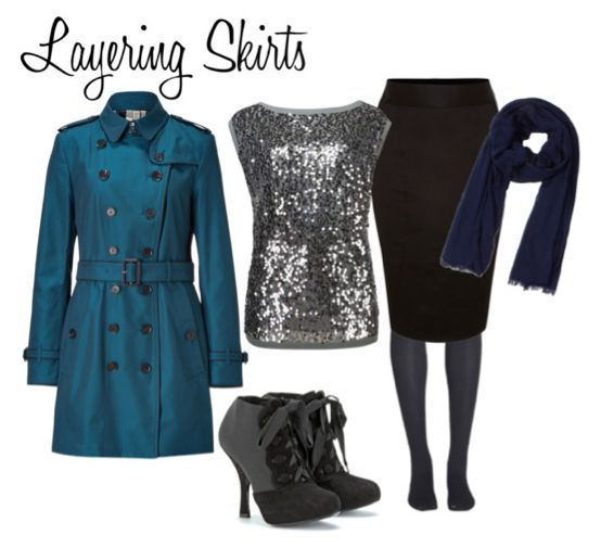 How to layer clothing for winter weather #RubyRibbon Fall Layering http://www.rubyribbonmixer.com