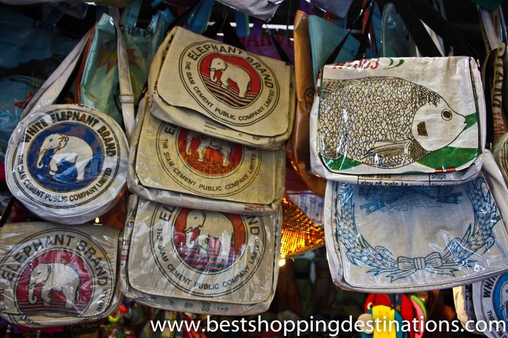 Bags made of Recycled Materials  http://bestshoppingdestinations.com/buy-siem-reap/