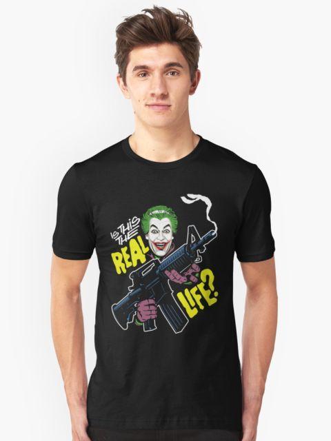 The Real Life T-Shirt - Joker T-Shirt at Redbubble!