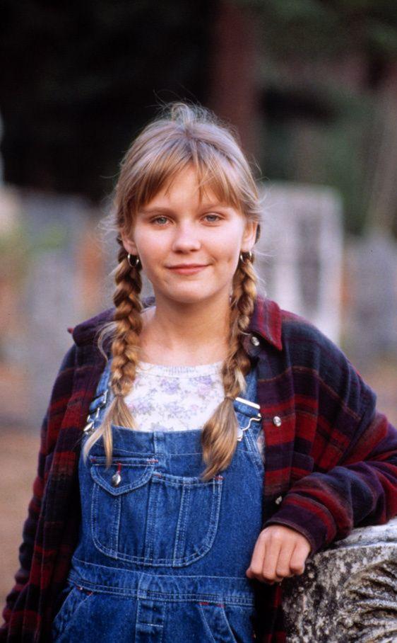 Kirsten Dunst - Jumanji 1994  Tendencia petos vaqueros