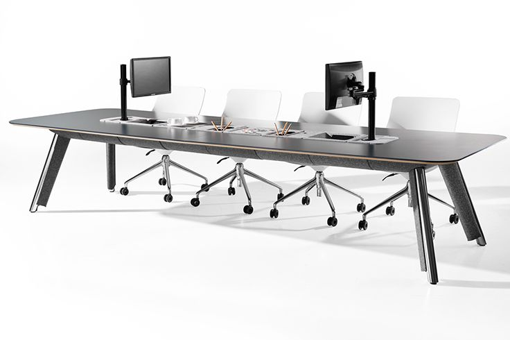 Focused is designed by Jones & Partners for thinking.info. Focused is designed for task driven activities rather than just personal work settings or formal meeting spaces. Design Guildmark 2014 Winner. www.jonespartners.eu #ProductDesign #Tables #Desk