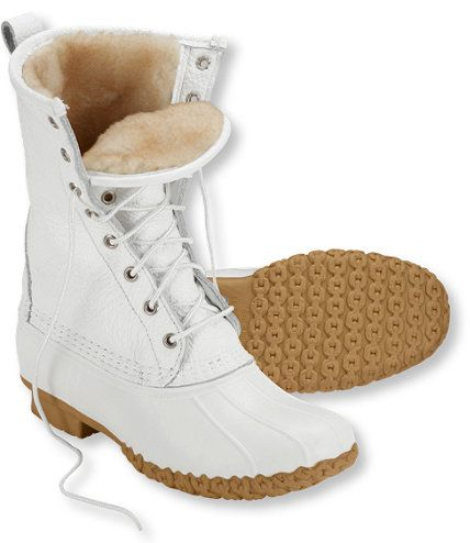 """Women's Bean Boots by L.L.Bean, 10"""" Shearling-Lined: Bean Boots 
