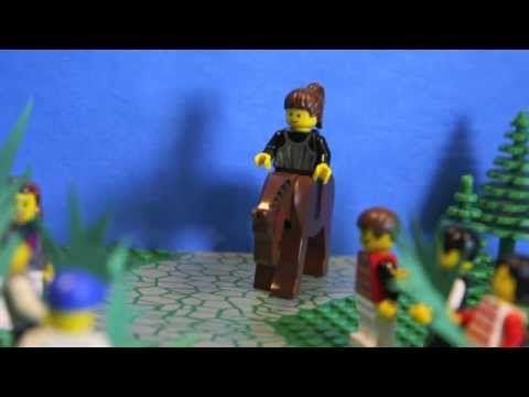 1. LEGO-pääsiäistarina Jeesus ratsastaa Jerusalemiin - YouTube