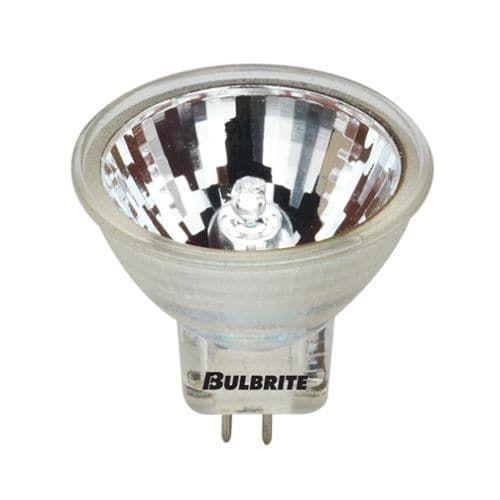 Bulbrite 642021 Pack of (5) 10 Watt Clear Dimmable MR11 Shaped GU4 Base 12V Halogen Bulbs