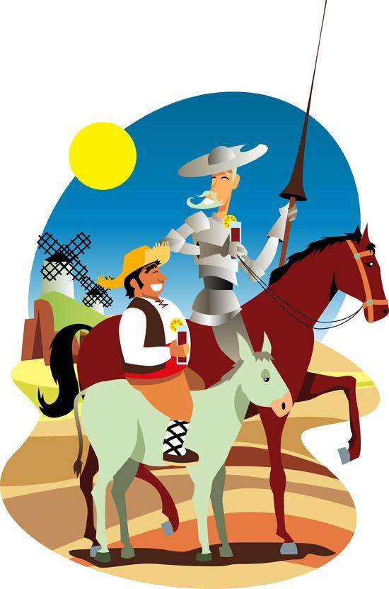 pinturas de el quijote de la mancha | Lecturas plásticas. Las Manchas del Quijote
