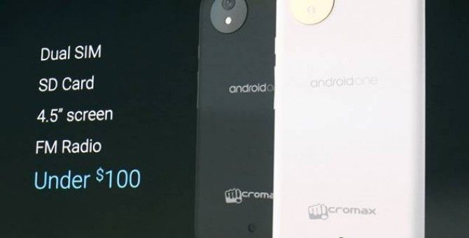 Another Google Product: Android One phone.
