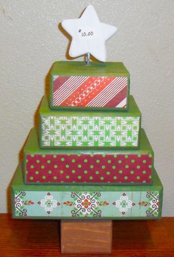 Wooden craft christmas trees - Polka Dot Door Creations Christmas Wood Craftsholiday Craftschristmas Treechristmas Recipesholiday Ideaswinter Ideaschristmas Projectsholiday