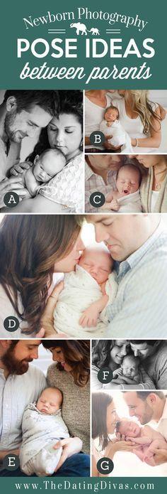 Neugeborenen Foto Posing Ideen für Eltern