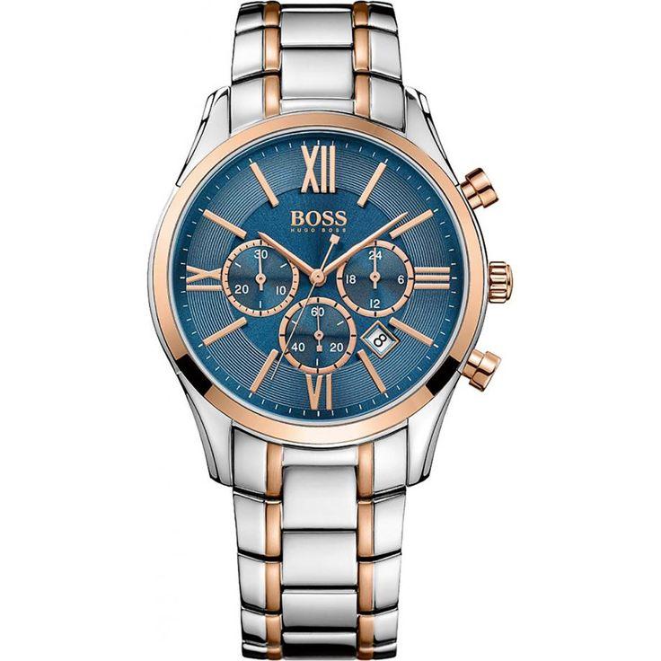 Hugo Boss Mens Analog Dress Quartz Watch (Imported) 1513321