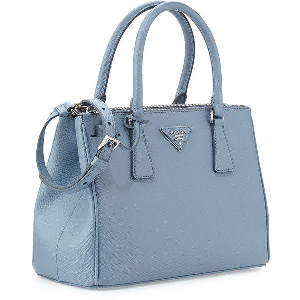 Blue Prada Handbag