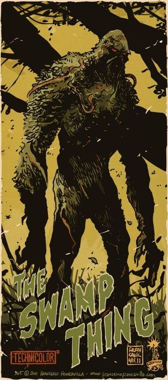 Swamp Thing by Francesco Francavilla