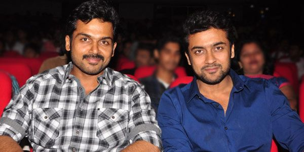 Suriya and Karthi are completely different personalities