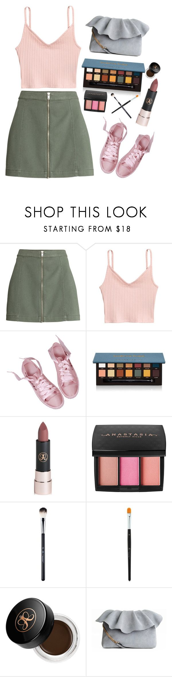 """""""Suede"""" by aurum18 on Polyvore featuring Anastasia Beverly Hills"""