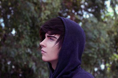 Фото, Адамс яблоко, adamsapple, мальчик, милый, волосы