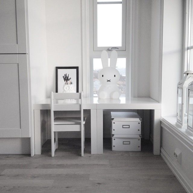 mommo design: 8 LITTLE IKEA HACKS - Ikea Lack table as kid's desk