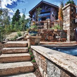 Colorado Mountain Home  Design One Interiors   GREAT Outdoor Space!