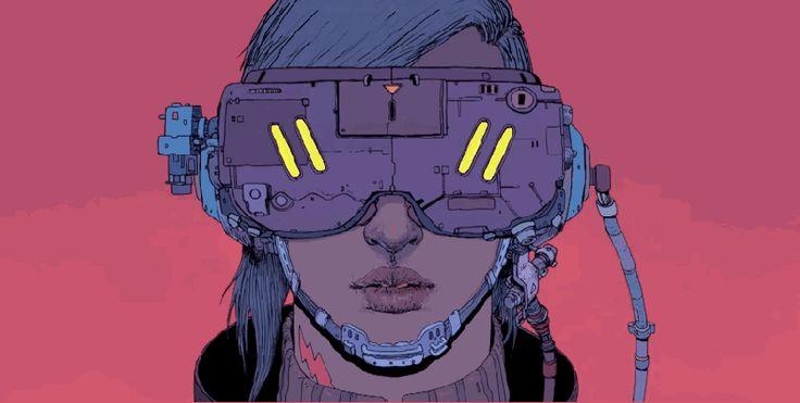 SCI Fi Cyberpunk Ilustração 12 - Josan Gonzalez