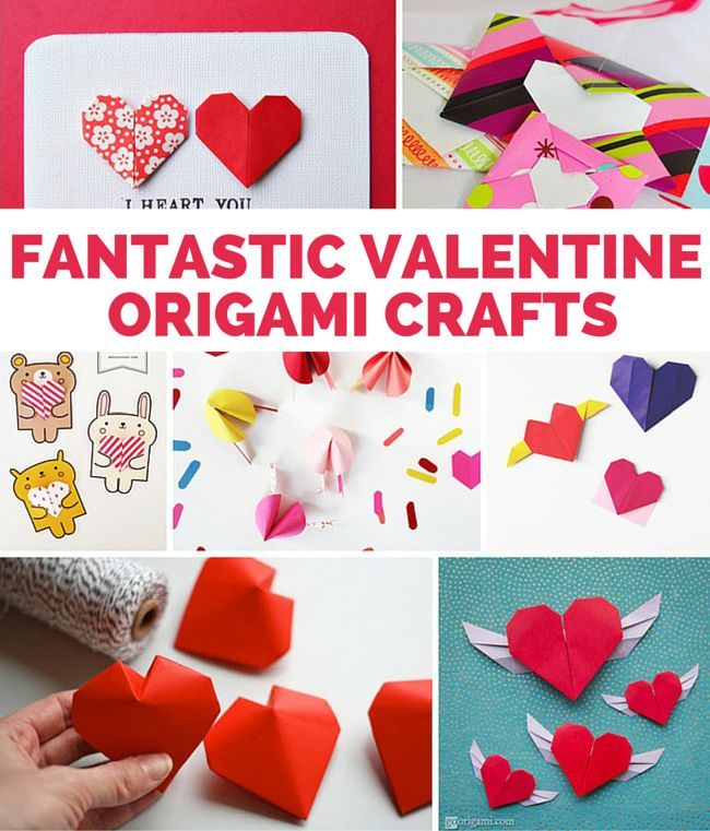 15 Fantastic Valentine Origami Crafts So Fun For Kids And