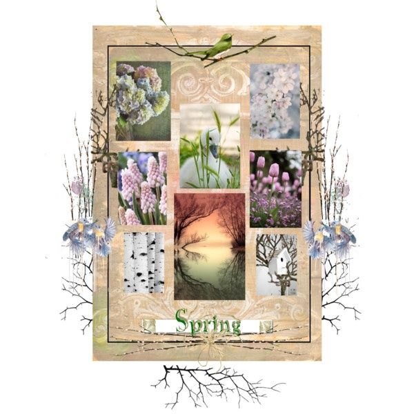 Hope Of Spring by acreativelife on Polyvore
