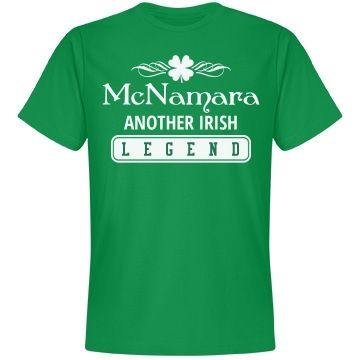 McNamara another irish legend