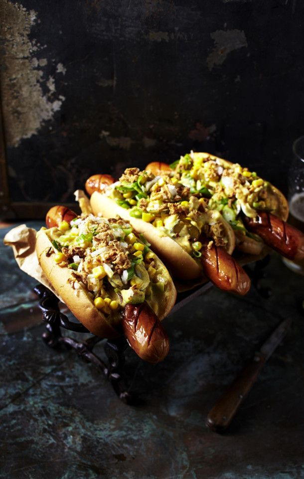 Hot-Curry-Dogs – Jenni Siebert