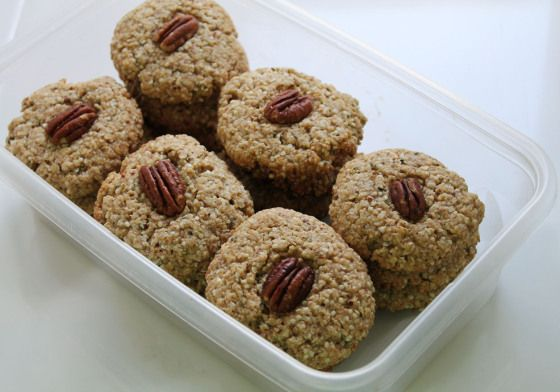 Maple Pecan Power Cookies | Food | Pinterest
