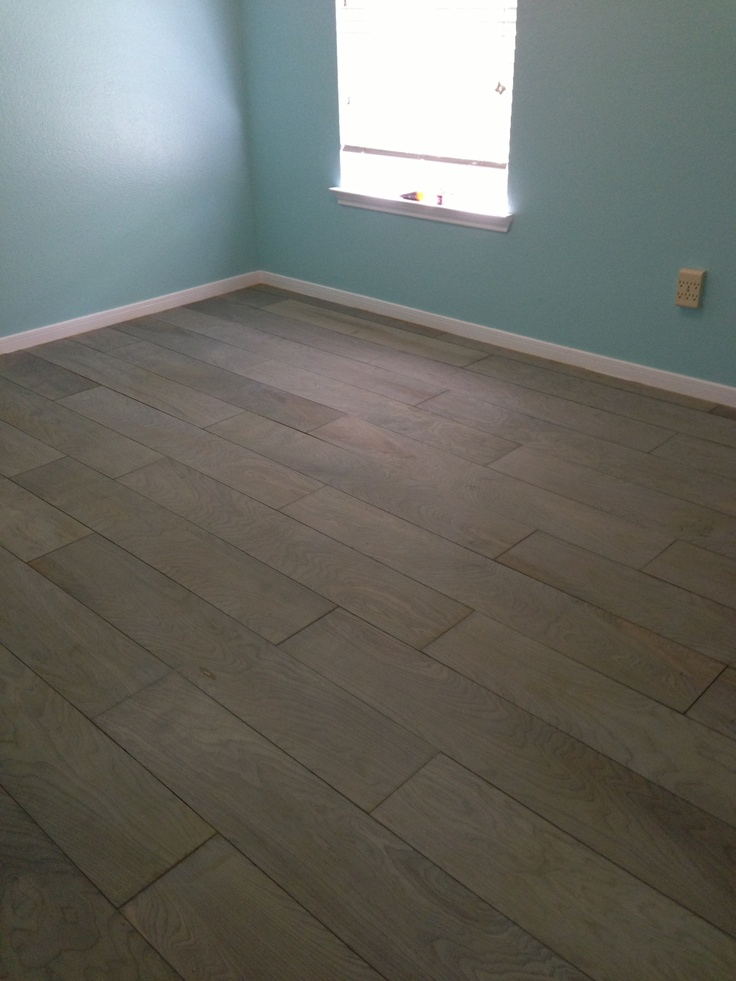 Plywood Floors After Pretreating With Eco Wood Floor Treatment