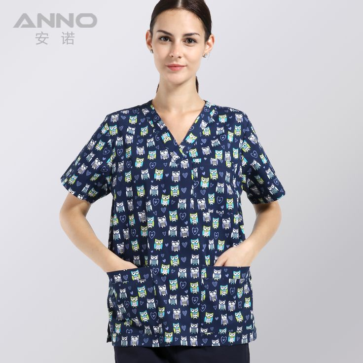 ==> [Free Shipping] Buy Best wholesale nursing uniforms printed medical clothings hospital doctor scrubs medical scrub suits female hospital medical scrub Online with LOWEST Price | 32728750069