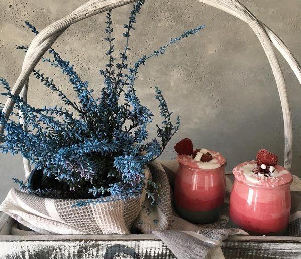 Różowe ombresmoothie czyli warstwowy koktajl