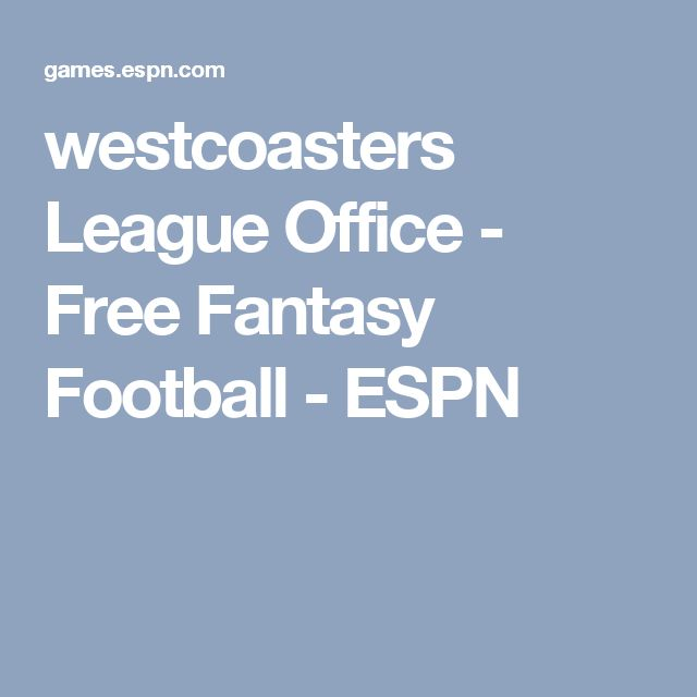 17 best ideas about free fantasy football on pinterest fantasy football names fantasy