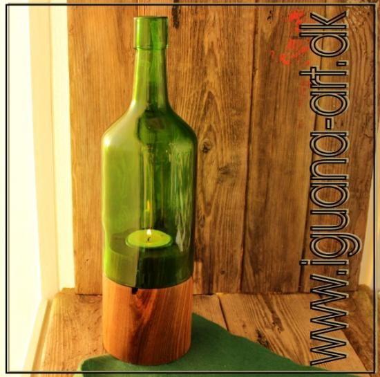 Flaskelys Portvin