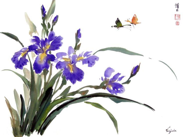 Virginia Lloyd-Davies - Online Chinese brush painting Gallery
