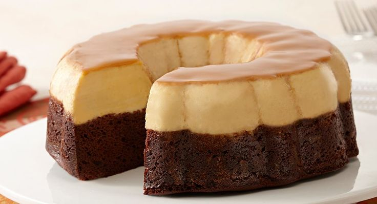 Another Chocoflan recipe - looks easy and yummy.