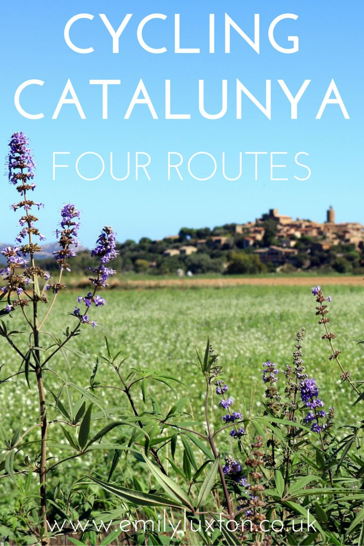 Four of the best (and relatively easy) cycling routes in Catalunya.